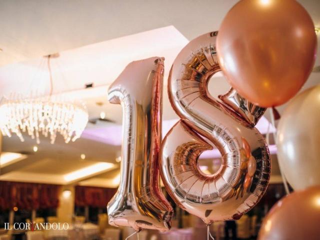Allestimento con palloncini per Feste e Party