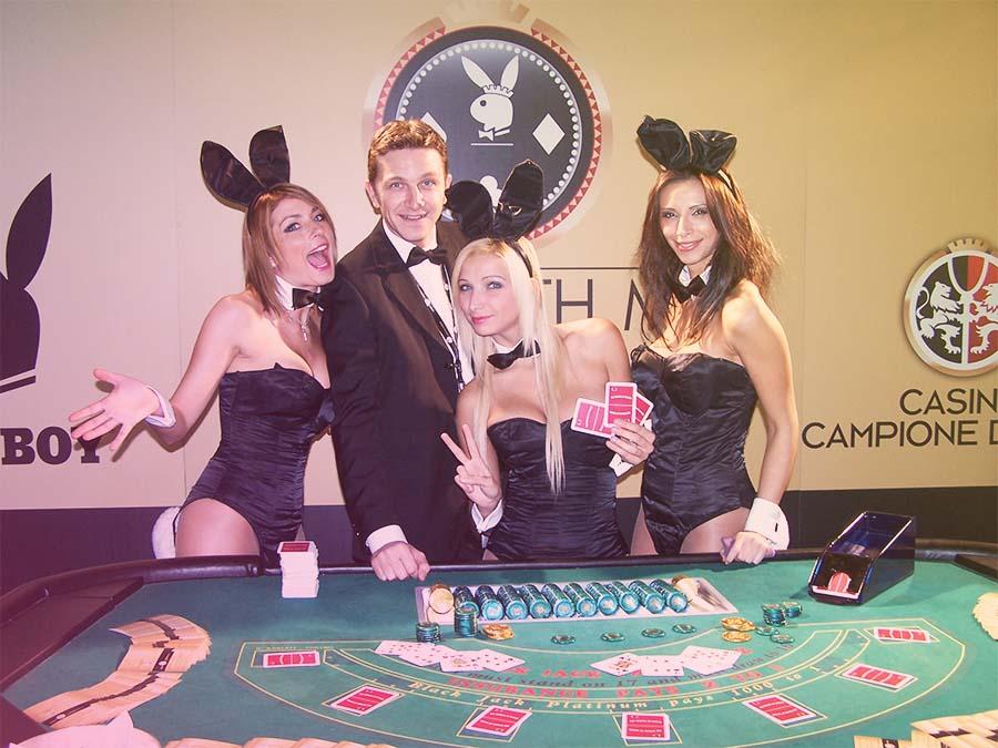 Festa a tema casino